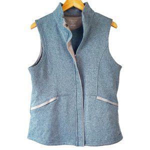 ExOfficio Seafoam Blue Knit Fleece Travel Vest
